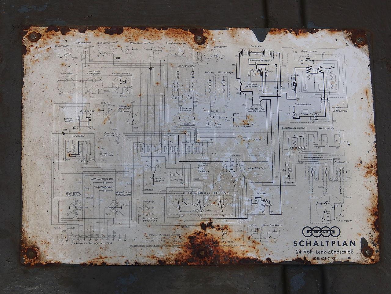 File:1977 Military Auto Union Munga schaltplan, pic7.JPG - Wikimedia ...