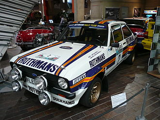 Ari Vatanen - The Ford Escort RS1800 in which Vatanen finished 2nd on the 1981 RAC Rally.