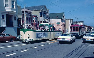 San Francisco Historic Trolley Festival Discontinued streetcar service in San Francisco