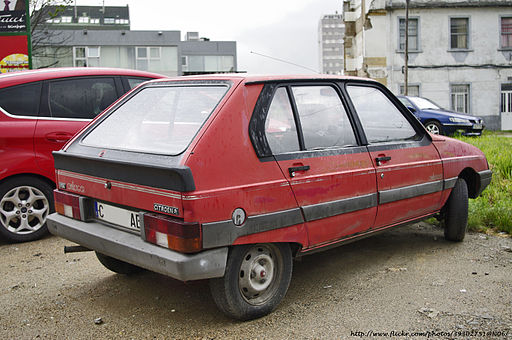 1986 Citroën Visa Challenger (5821987297)