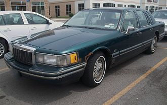 Lincoln Town Car - 1992 Lincoln Town Car Jack Nicklaus Signature Series