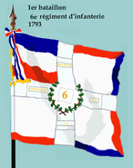 1er bataillon 6e rég inf 1793