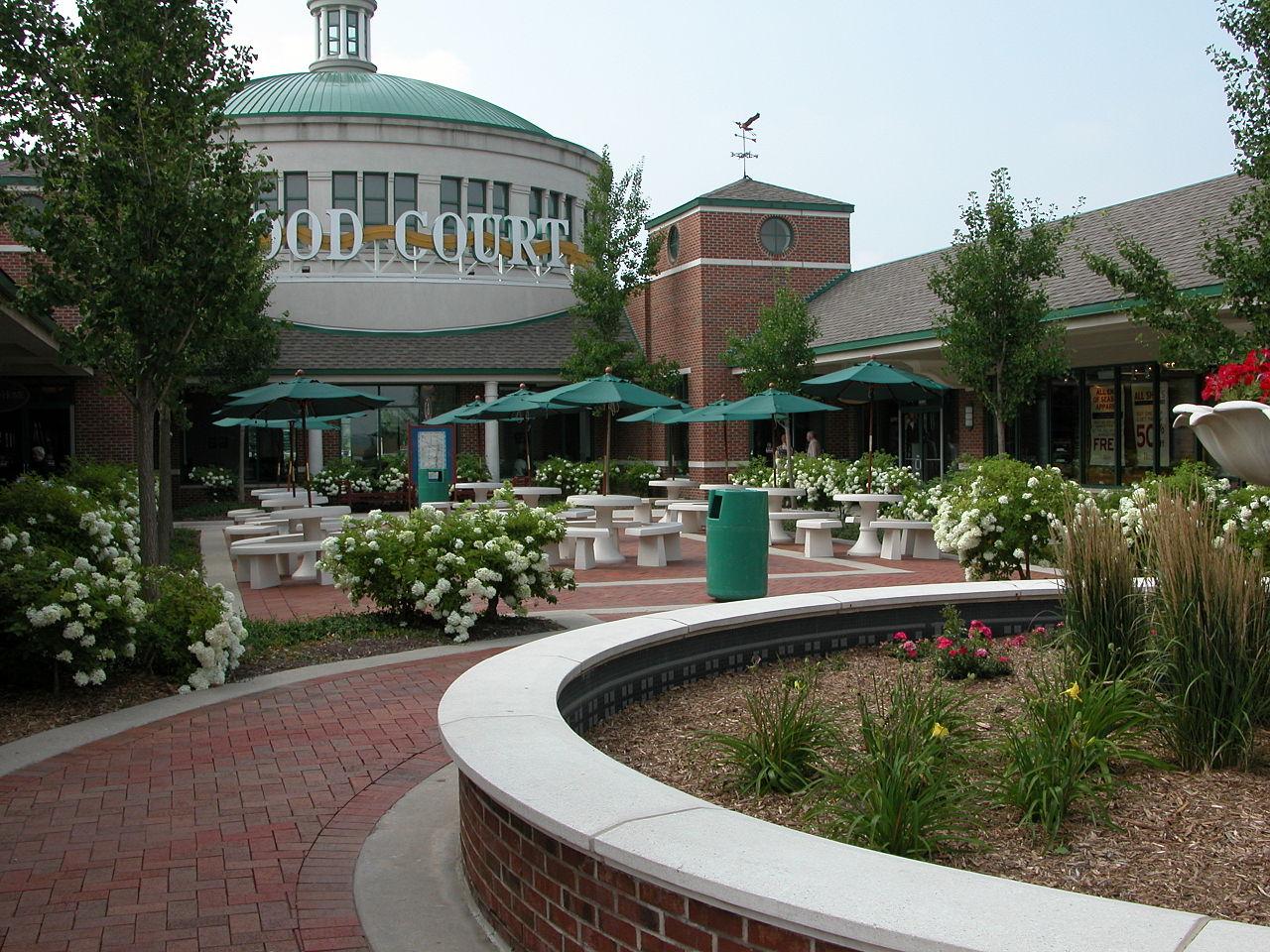 Food Court Chicago Ridge Mall