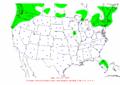 2003-10-20 24-hr Precipitation Map NOAA.png