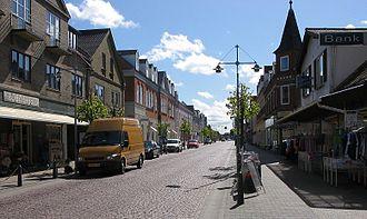 Brønderslev - Street in Brønderslev
