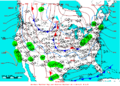 2005-02-18 Surface Weather Map NOAA.png