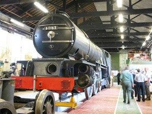 A1 Steam Locomotive Trust - Tornado inside the works