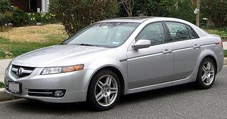 Acura TL Motor vehicle