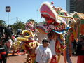 2008 Olympic Torch Relay in SF - Dragon dance 08.JPG