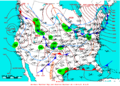 2009-02-13 Surface Weather Map NOAA.png