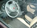 2009 Fiat Panda 1.2 Emotion interior.JPG