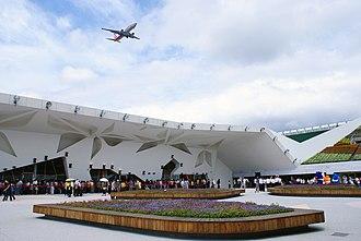 Taipei International Flora Exposition - The EXPO Dome.