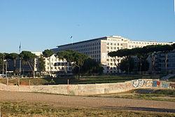 Il quartier generale della FAO a Roma