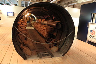 History of espionage - Spy tunnel in Cold War Berlin.