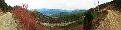 20120412陕西商洛市S307省道黄沙岭山口北望 - panoramio.jpg