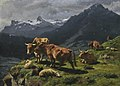 2012 CSK 06210 0042A rosa raymond bonheur cattle and sheep in an alpine landscape).jpg