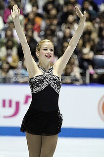 2012 ISU World Team Trophy Gracie GOLD2.jpg