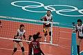 2012 Summer Olympics - Women's Volleyball Semlfinals Korea vs USA.jpg