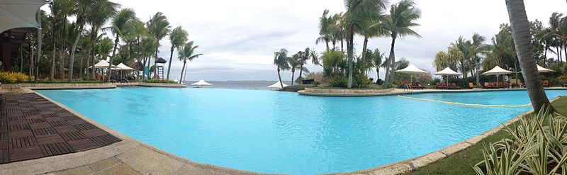 Infinity edge pool wikipedia the free encyclopedia - Hotels in cebu with swimming pool ...