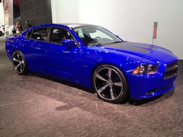 Una Dodge Charger Daytona del 2013