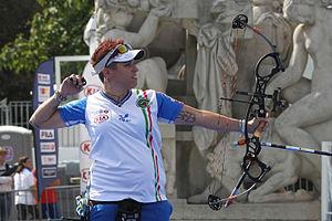 Marcella Tonioli - Marcella Tonioli at FITA Archery World Cup in September 2013.