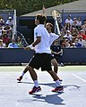 2013 US Open (Tennis) - Fabio Fognini and Albert Ramos (9661620833).jpg