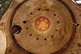 Ioannina - Interior vie of the dome of the Aslan Pasha Mosque built on the site of the Church of Saint John, which was torn down after the failed anti-Ottoman revolt of 1611