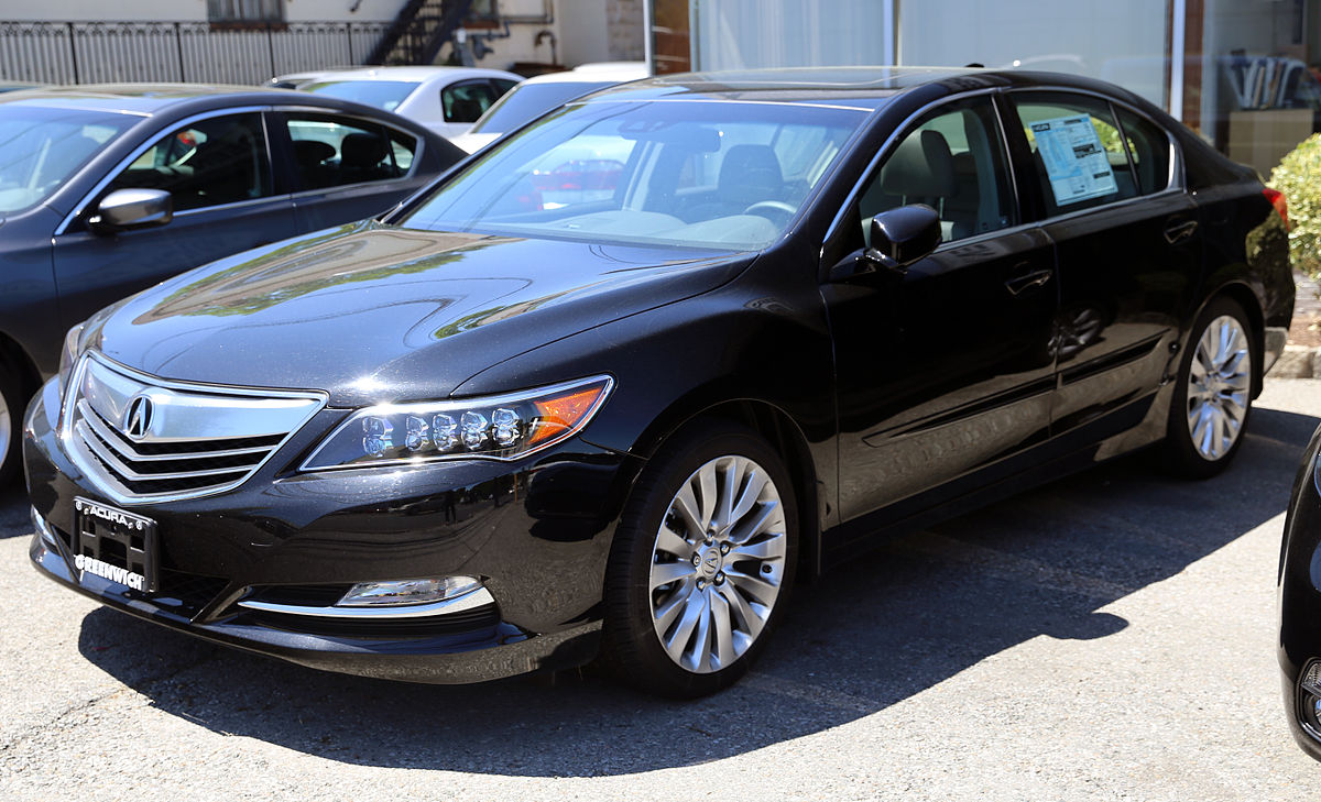 Acura RLX Wikipedia - 2018 acura rl for sale