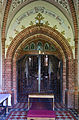 2014 Jaszkowa Dolna, kościół św. Jana Chrzciciela 14.JPG