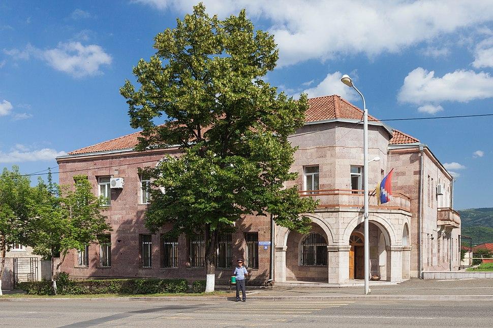 2014 Stepanakert, Budynek Ministerstwa Spraw Zagranicznych Republiki Górskiego Karabachu (02)