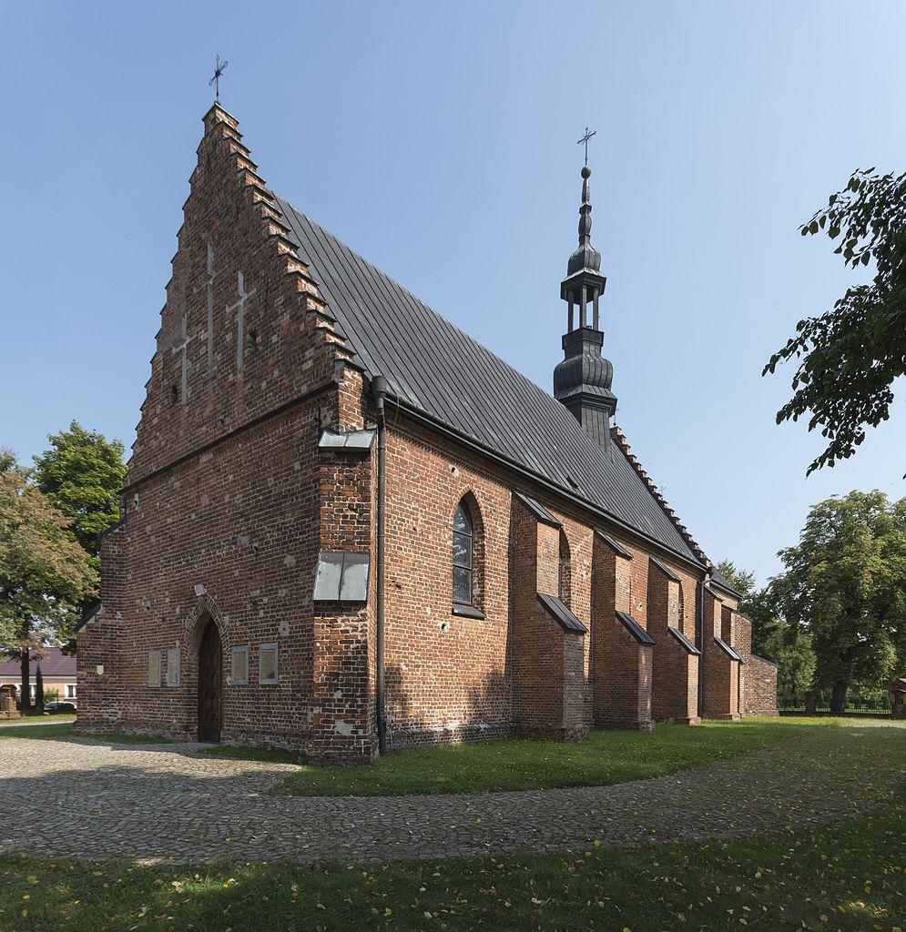 Eglise św. Marii Magdaleny Près de Sandomierz. Photo de Jacek Halicki.