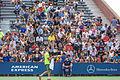 2015 US Open Tennis - Qualies - Guilherme Clezar (BRA) def. Nicolas Almagro (ESP) (12) - The Crowd (20964402138).jpg
