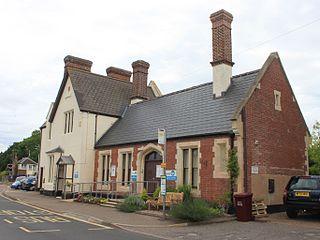 Topsham railway station Railway station in the Devon, England