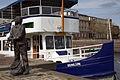 20160422 Beeld Sasiaan en fietsboot van de Eemlijn.jpg