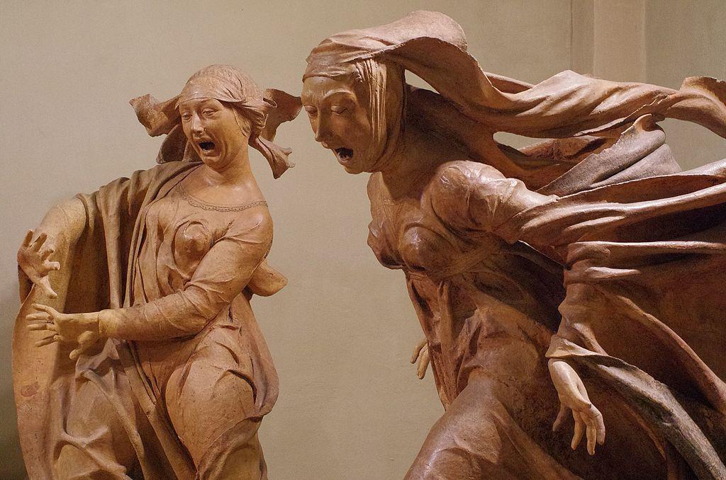> Autres sculptures en terracotta dans l'église Santa Maria della Vita a Bologne - Photo Paolo Villa.