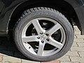 2017-09-14 (101) Bridgestone automobile 235-55 R 18 tire at Bahnhof Unter Purkersdorf.jpg