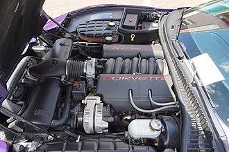 Chevrolet Corvette (C5) - The LS1 V8 engine