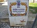 2018-01-27 Tile street name sign, Rua Ataíde Oliveira, Albufeira.JPG