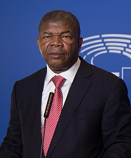 João Lourenço Angolan politician, president of Angola