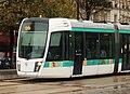 2018 Paris tram T3a at Porte Doree 1.jpg