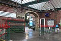 2018 at Ulverston station - the baggage entrance.JPG