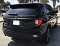 2019 Honda Passport, Crystal Black (rear), 7.2.19.jpg