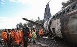 2019 Saha Airlines Boeing 707 crash 06.jpg