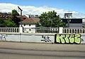 2020-07-05 Sanierung der Stühlingerbrücke in Freiburg; Westrampe nördlicher Teil vor der Sanierung.jpg