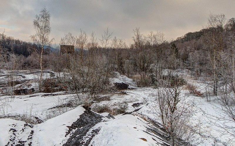 Vestiges miniers, à Ronchamp et aux alentours... 800px-2021-01-09_10-59-19_terril-Chanois