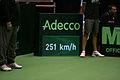 251 kmph serve by Ivo Karlovic Davis Cup 05032011 1 Zagreb.jpg