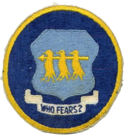 301st Bombardment Group - SAC - Patch