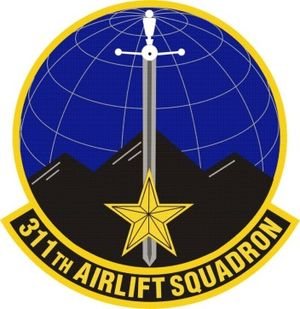 311th Airlift Squadron - Image: 311th Airlift Squadron
