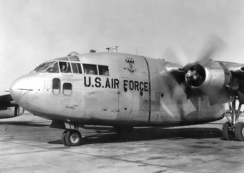 317th Troop Carrier Wing C-119 Flying Boxcar
