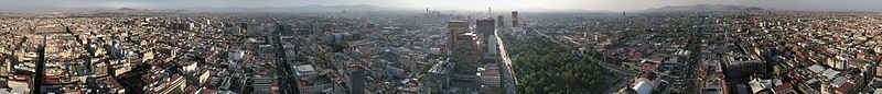 360° Panorama Mexico City seen from Torre Latinoamericana.jpg